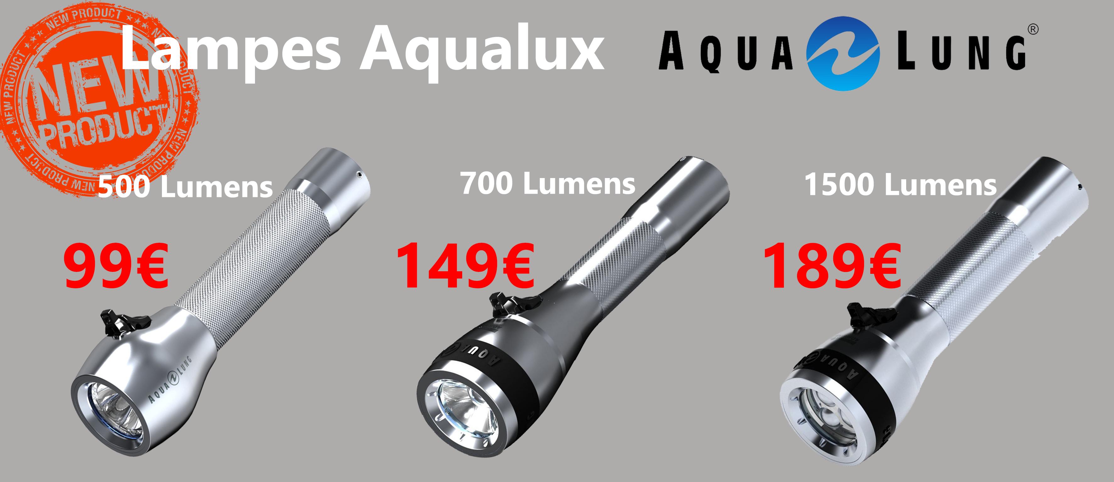 Lampes Aqualux