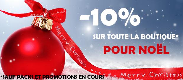 10% Noël PAINTBALL