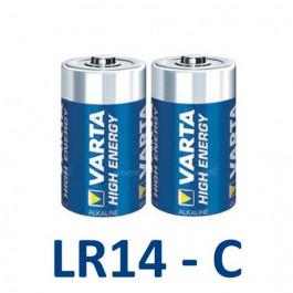 2 Piles Alcalines LR14