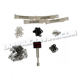 Kit d'entretien boutons pour caissons IKELITE Compact et SLR