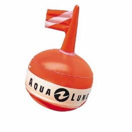 Bouée de signalisation ronde orange