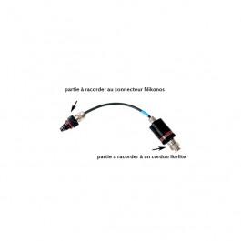Adaptateur iTTL D2X Nikon pour connecteur Nikonos IKE 4302.3