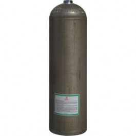 """Bouteille alu S80 """"Dirty Beast"""" 11,1 litres, 207 bars, Nue"""