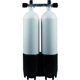Bloc Bi Bouteille 2 x 7 litres Alu 230 Bar OMS