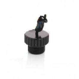 Bouchon Protection robinet DIN Alu Noir