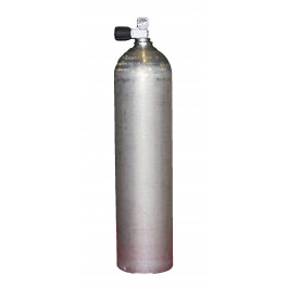 Bouteille 7 litres Alu Dirty Beast 200 bars Robinet DIN LUXFER