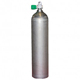 Bouteille alu 7 litres dirty Beast 200 bar Robinet Nitrox M26 OMS