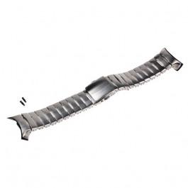 Kit bracelet argenté en acier pour Suunto D6i