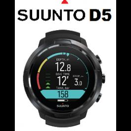 D5 SUUNTO Ordinateur de plongée avec écran couleur et bracelets interchangeables