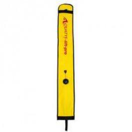 Parachute Pro 20 L nylon enduit Pu jaune, équipé d'une soupape de surpression
