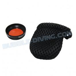 Filtre rouge 32mm pour caissons I-Pix A4 pour Iphone I-DAS