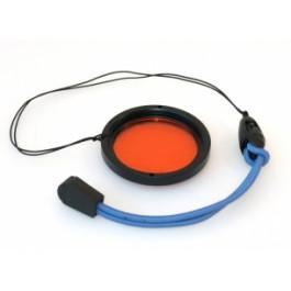 Filtres Orange Rouge à visser 45 mm pour caissons photo