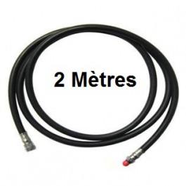 Flexible MP Moyenne Pression 2,10 m NOIR