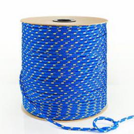Corde Ficelle Bout Bleu/jaune 2 mm vendu au mètre