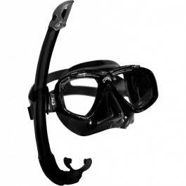 Masque Perla Mare Kit Masque Tuba Noir