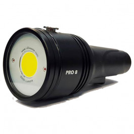 Phare I-Torch PRO 8 monoled 3000 lumens et Leds rouge