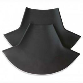 Collerette de cou en latex de forme conique pour combinaison étanche SITECH