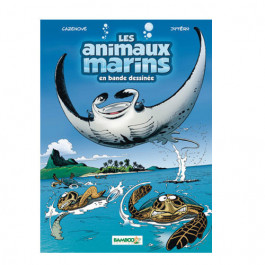 Livre BD Les Animaux Marins Tome 3 BAMBOO EDITIONS