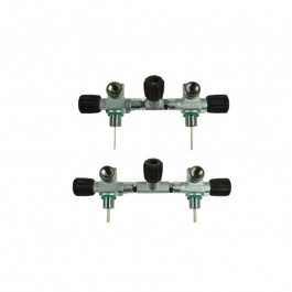 Manifold complet bouteilles S80 et 80CF (186mm)