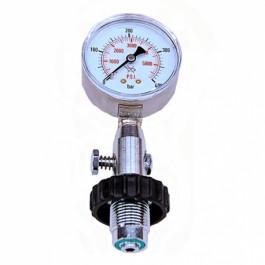 Manomètre de surface DIN compatible 200 et 300 bars