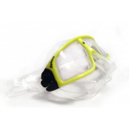 Masque SPHERA Transparent cerclage Jaune