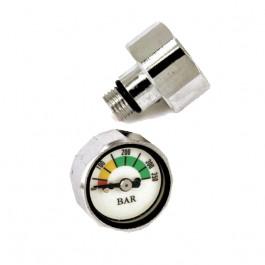 Mini manomètre bouton pour 1er étage bouton compatible Nitrox