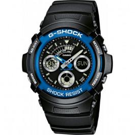 Montre Casio G shock AW 591 2AER Noir Bleu