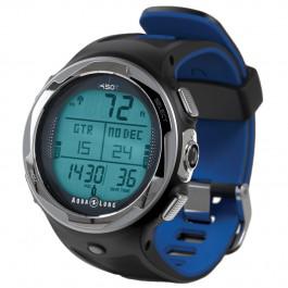 Montre Ordinateur i450T Bleu avec son interface USB AQUALUNG