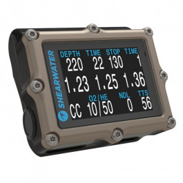 Ordinateur PETREL 2 Titane OC CC SHEARWATER
