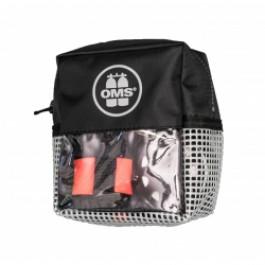 Pack sécurité II Gris: parachute palier 1,80m ouvert, dévidoir 23m, sacoche
