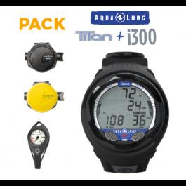 Pack N1 et N2 Détendeur Titan et i300-Promo Club Aqualung