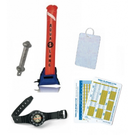 Kit N2 : Parachute + Plomb Compas + Table &  Miroir