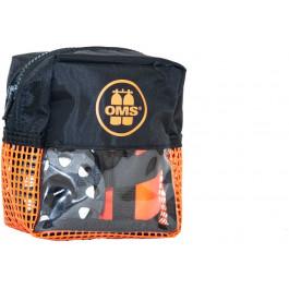 Pack sécurité Orange: parachute palier 1m ouvert  dévidoir 23m et sacoche