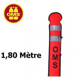 Parachute de palier ouvert OMS SMB OK 1,8m à purge SLIM