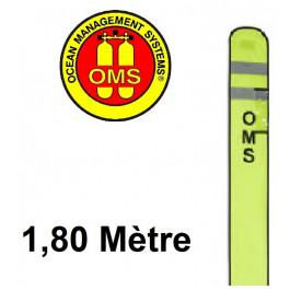 Parachute de palier ouvert OMS Jaune 1,8m à purge Hybrid