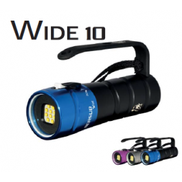 Phare WIDE 10 Lithium Bersub avec chargeur
