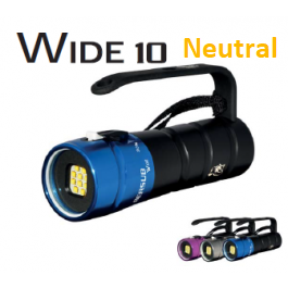 Phare WIDE 10 Lithium NEUTRAL Bersub avec chargeur