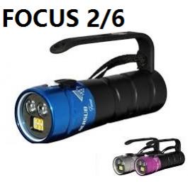 """Phare """"Focus 2-6"""" Lithium Bersub avec chargeur"""