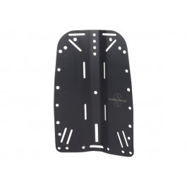Plaque dorsale Aluminium X-TEK
