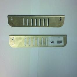 Platine double Inox 25 CM découpée au laser reconditonnée
