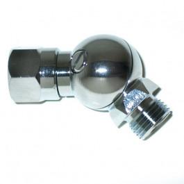 Rotule pivotante 90° pour flexible Moyenne Pression