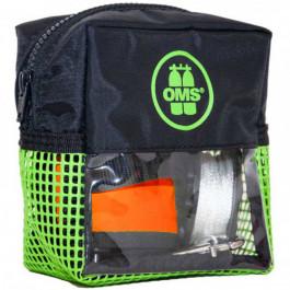 Pack sécurité VERT: parachute palier 1m ouvert + dévidoir 23m + sacoche