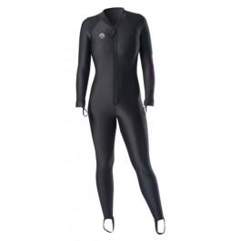 Sous vêtement CHILLPROOF Combinaison sèche SHARKSKIN Femme Zip Ventral