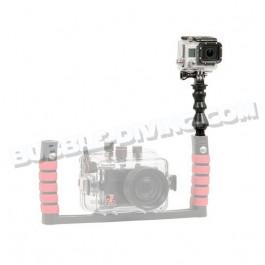 Kit de fixation GoPro sur platine et poignées Ikelite