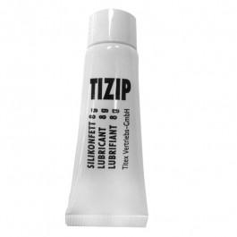 Tube de lubrifiant pour fermeture eclair TIZIP