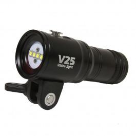 Phare Vidéo V25 Fish Lite 2800 Lumens + rouge