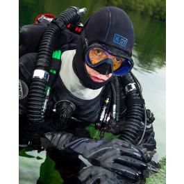 Masque de plongée VX1 APEKS Silicone Noir et Vitre claire
