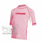 Top lycra Rose enfant