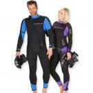 Pack Combinaison Femme Balance confort 5,5mm avec shorty et cagoule Aqualung