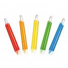 Stick lumineux avec clip (lumière chimique) durée 6 h, 11 cm